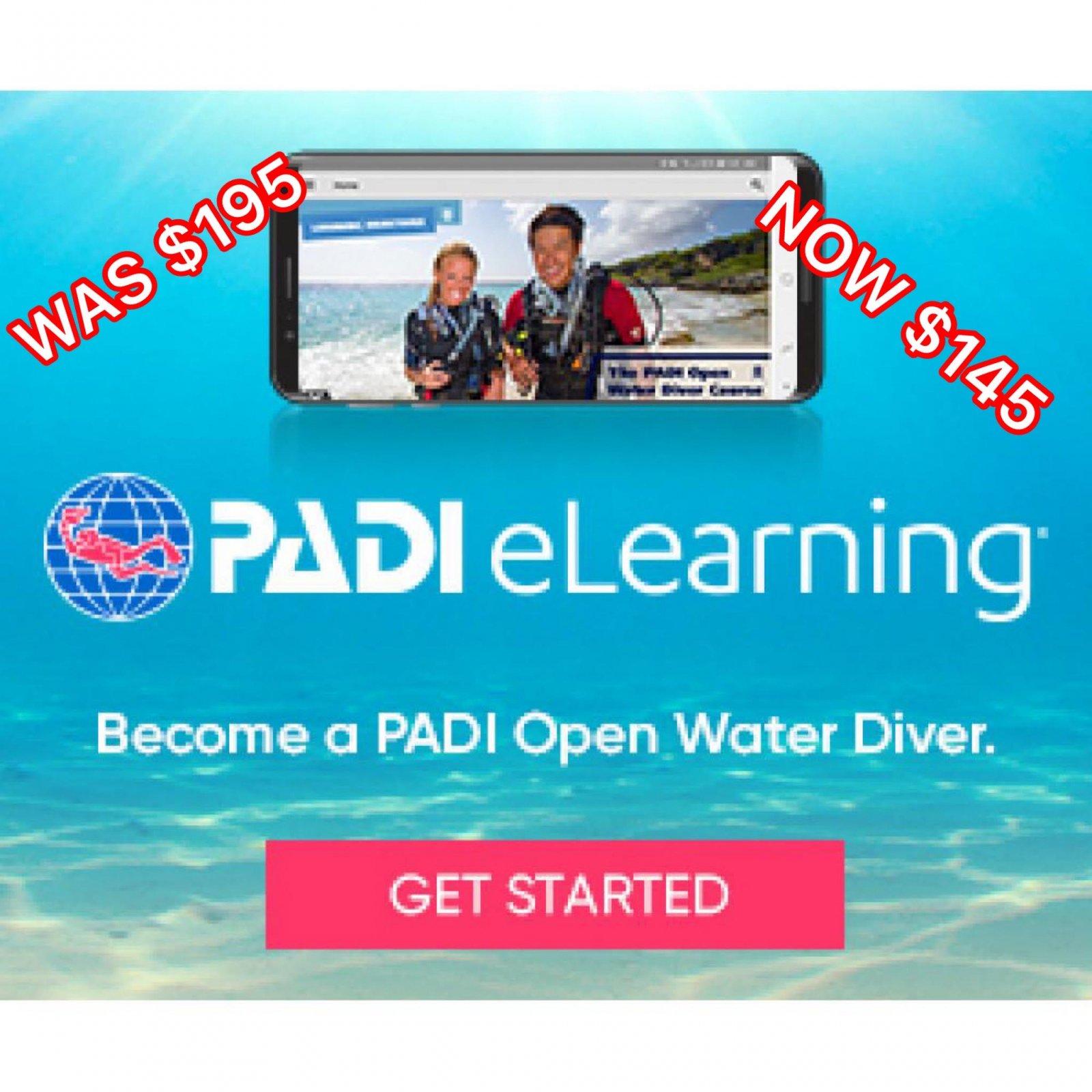 PADI E-LEARNING OPEN WATER
