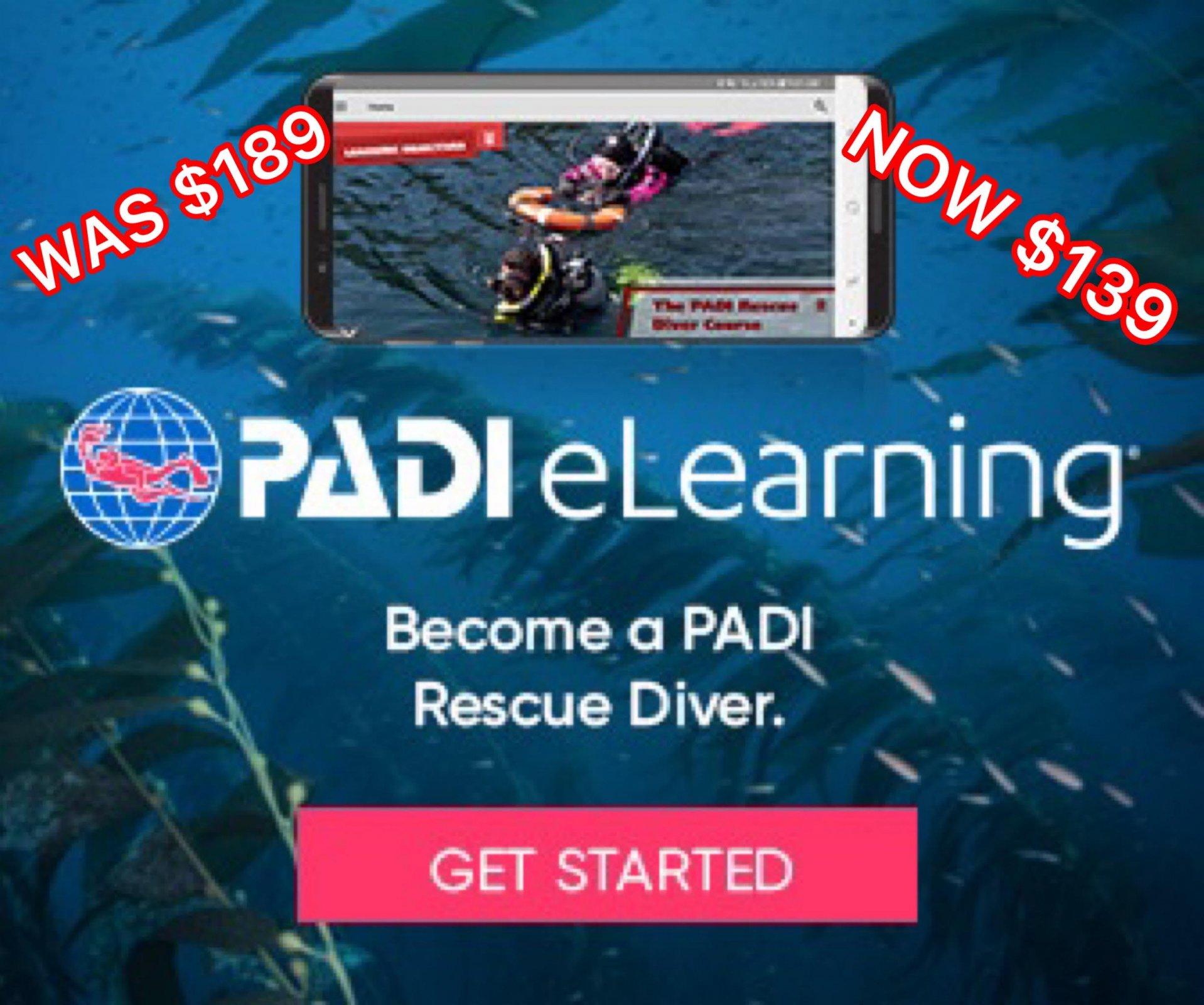 PADI RESCUE E-LEARNING