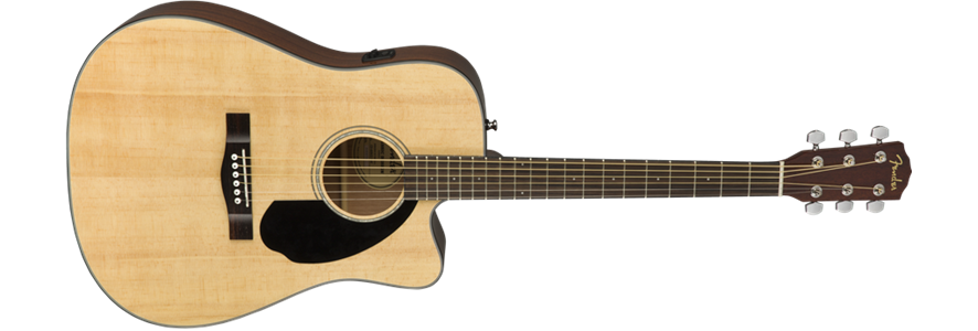 Fender CD-60SCE, Walnut FB