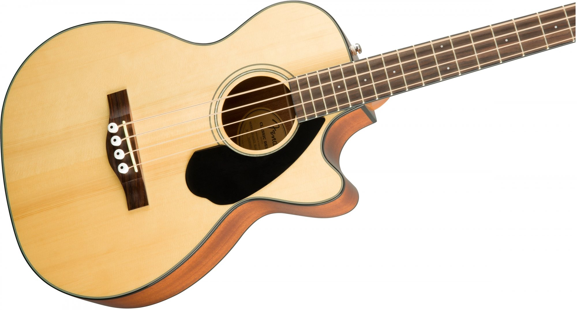 Fender CB-60SCE Acoustic Bass, Laurel FB