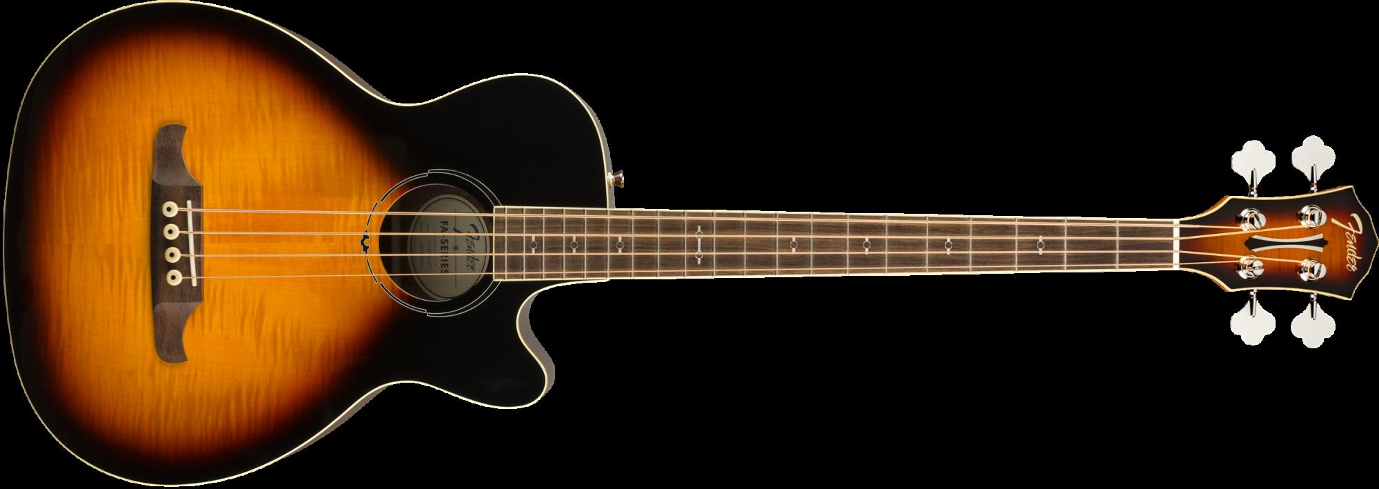 Fender FA-450CE Bass, Laurel Fingerboard