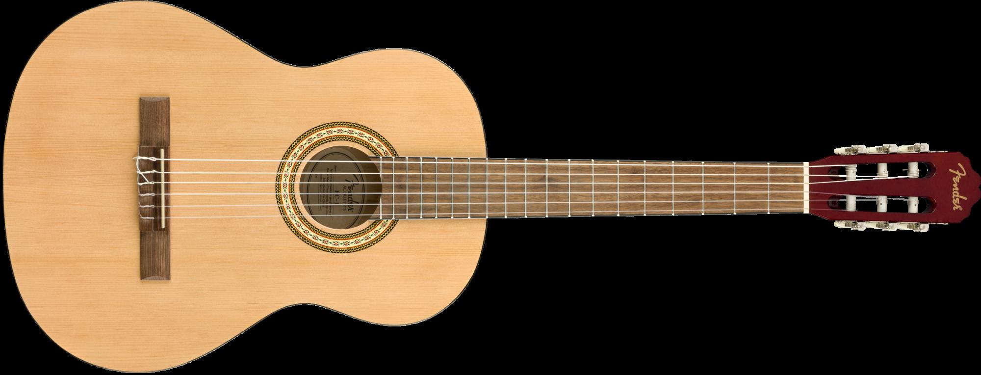 Fender FC-1, Classical, Walnut Fingerboard