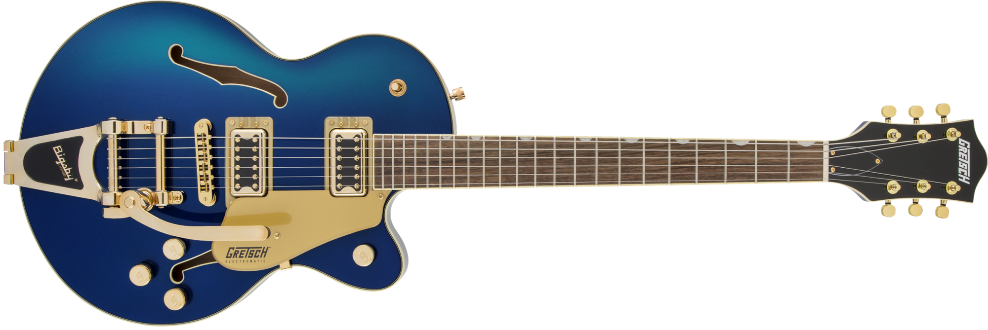 Gretsch G5655TG Electromatic Center Block Jr. Single-Cut with Bigsby? and Gold Hardware, Laurel FB