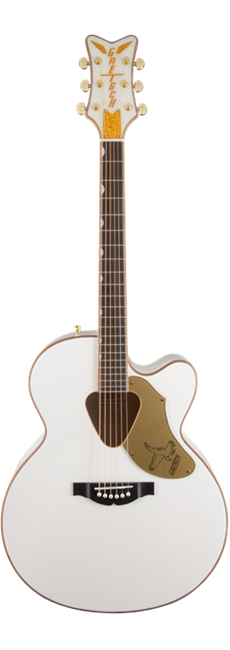 Gretsch G5022CWFE Rancher Falcon Jumbo with Pick up, White
