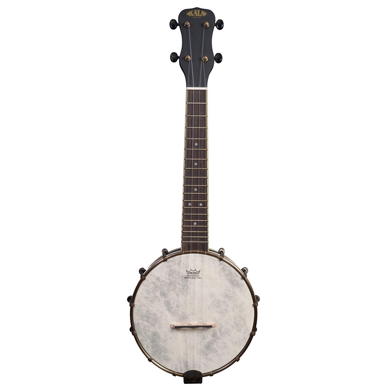 Kala KA-BNJ-BK-C Concert Banjo Ukulele Black with Bag