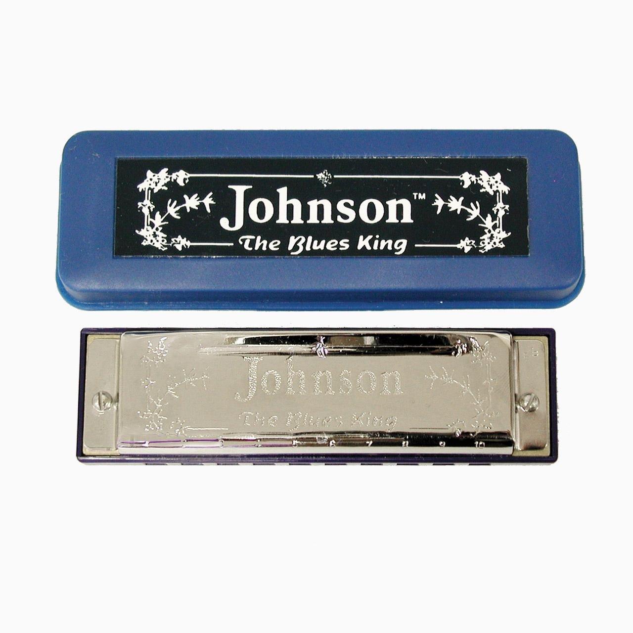 Johnson Blues King Harmonica BK-520-