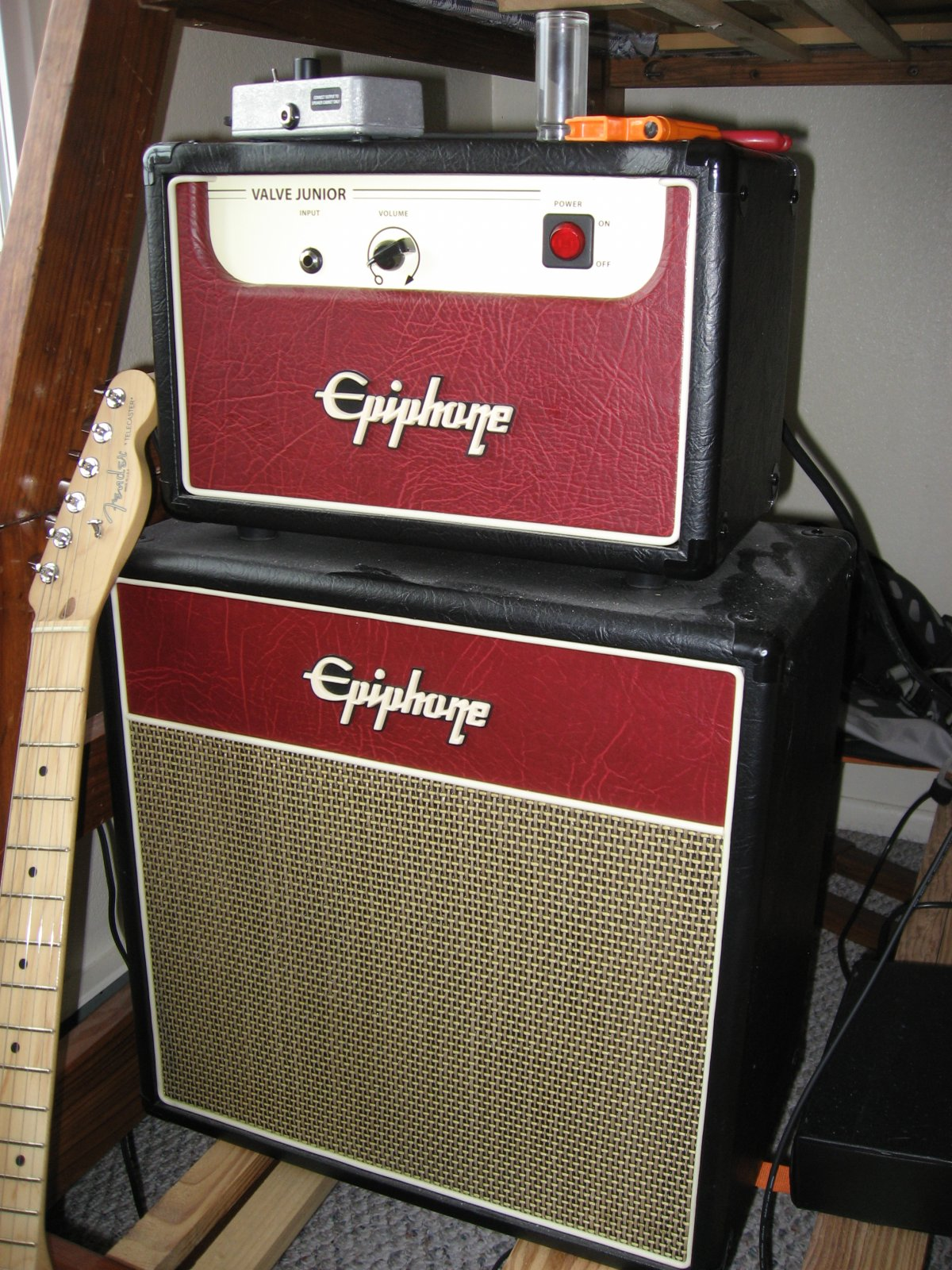 Epiphone Valve Junior head and Matching 1 12 cab USED