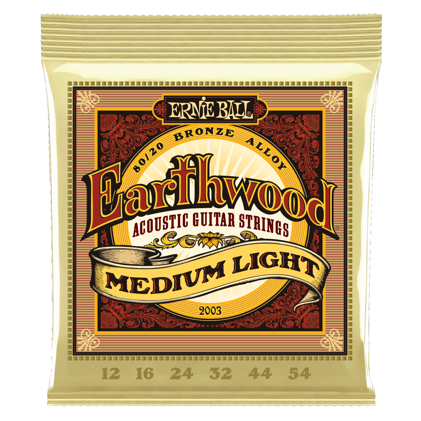Ernie Ball Earthwood Medium Light Set  2003