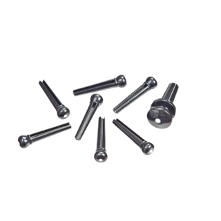 Planet Waves Injected Molded Bridge Pins With End Pin, Set Of 7
