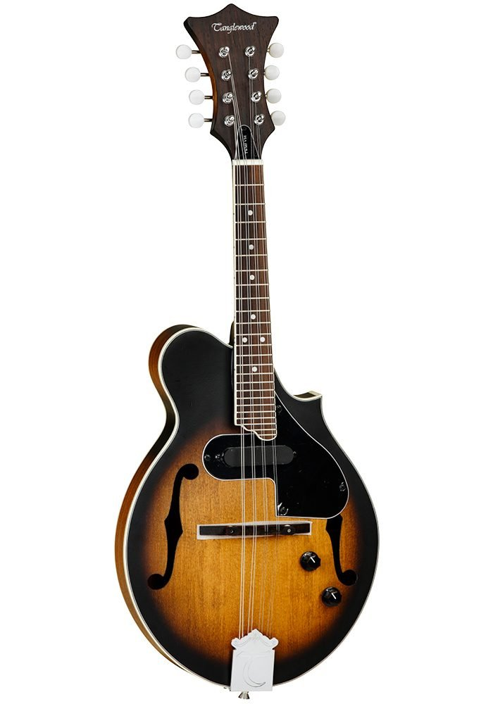 Tanglewood TWMFVSE Scroll style Mandolin with pick up