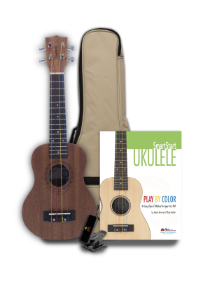 Tanglewood TU101NAK Play by Color Ukulele Tiare Pack