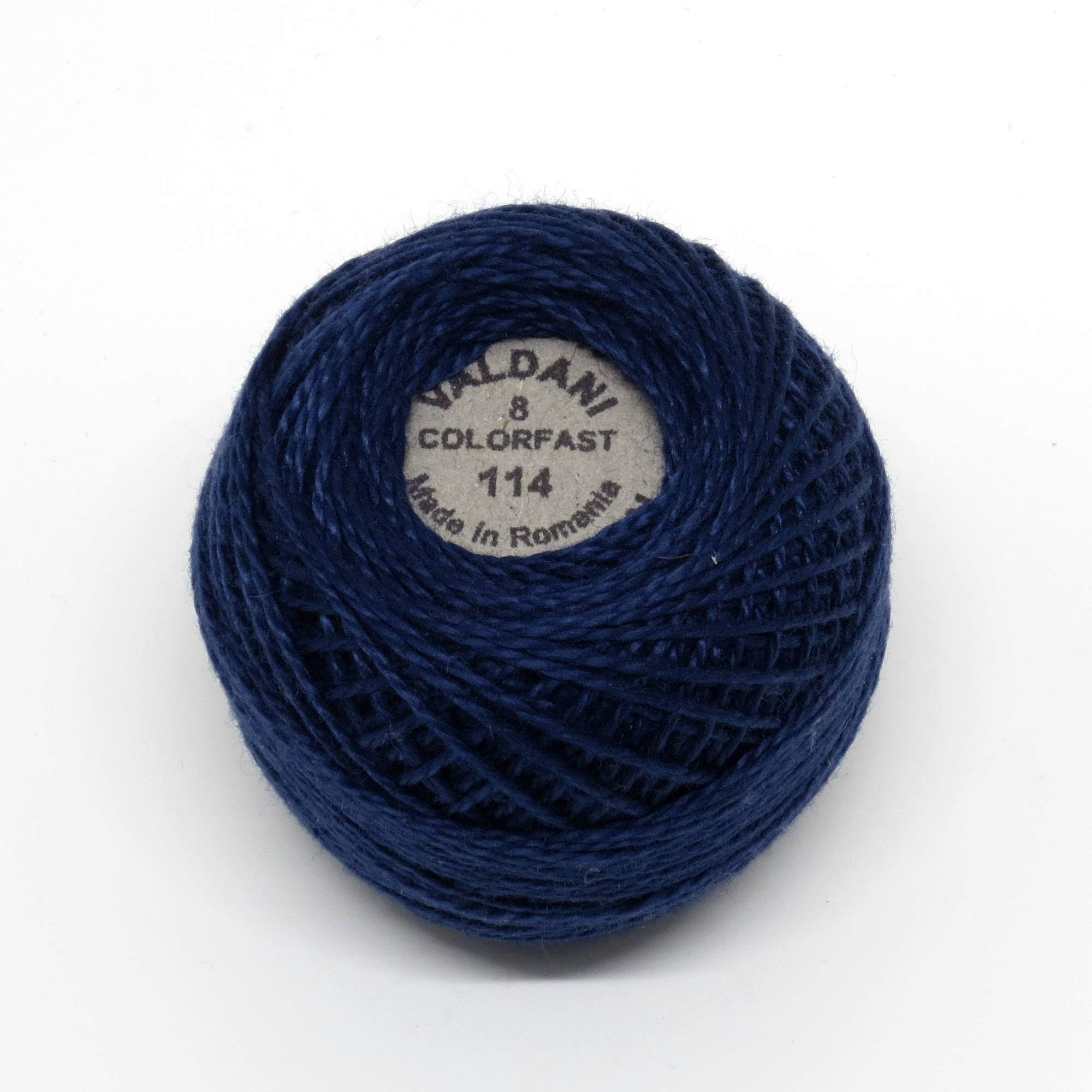 114 Valdani Marine Pearl Cotton