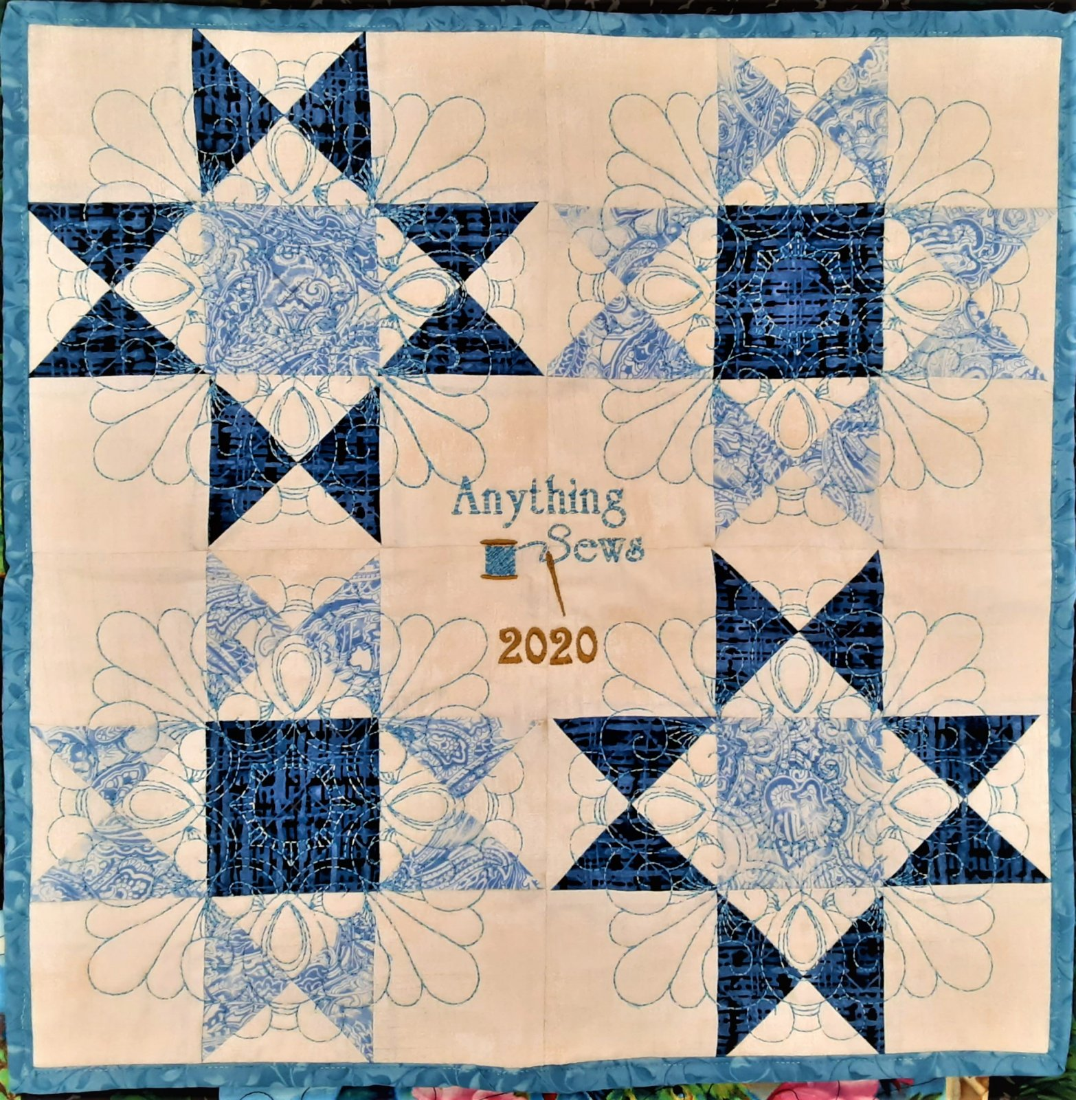 2020 Quilter's Trek Row by Row KIT
