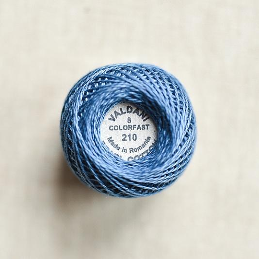 210 Valdani  Sappaire Pearl Cotton