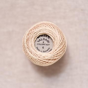 6 Valdani Natural Pearl Cotton