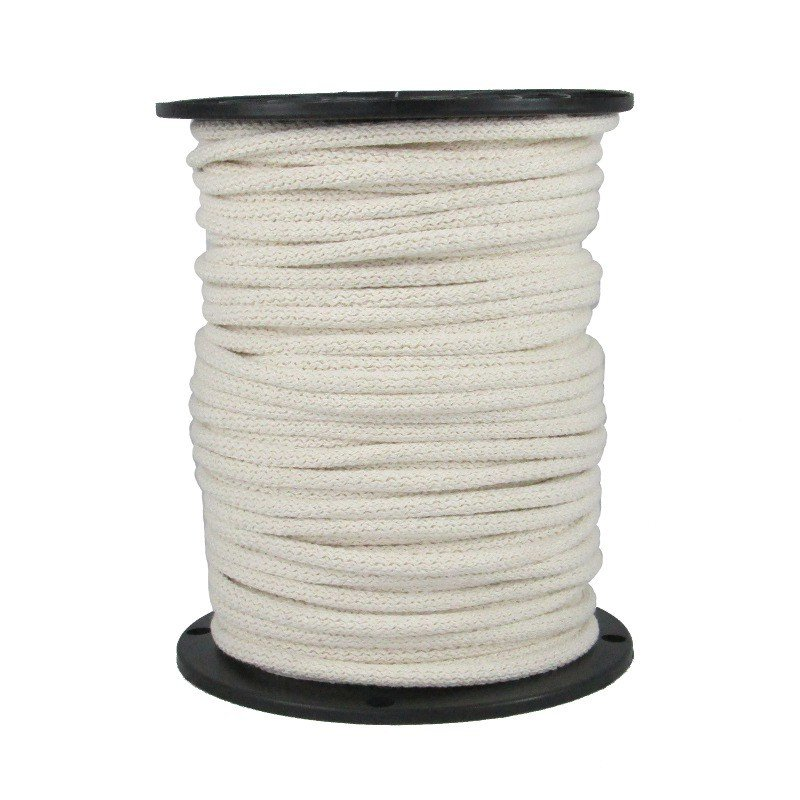 072820 Face mask white cord elastic 1/4