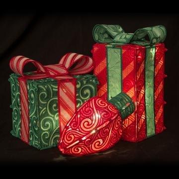 12701USB Freestandig Holiday boxes