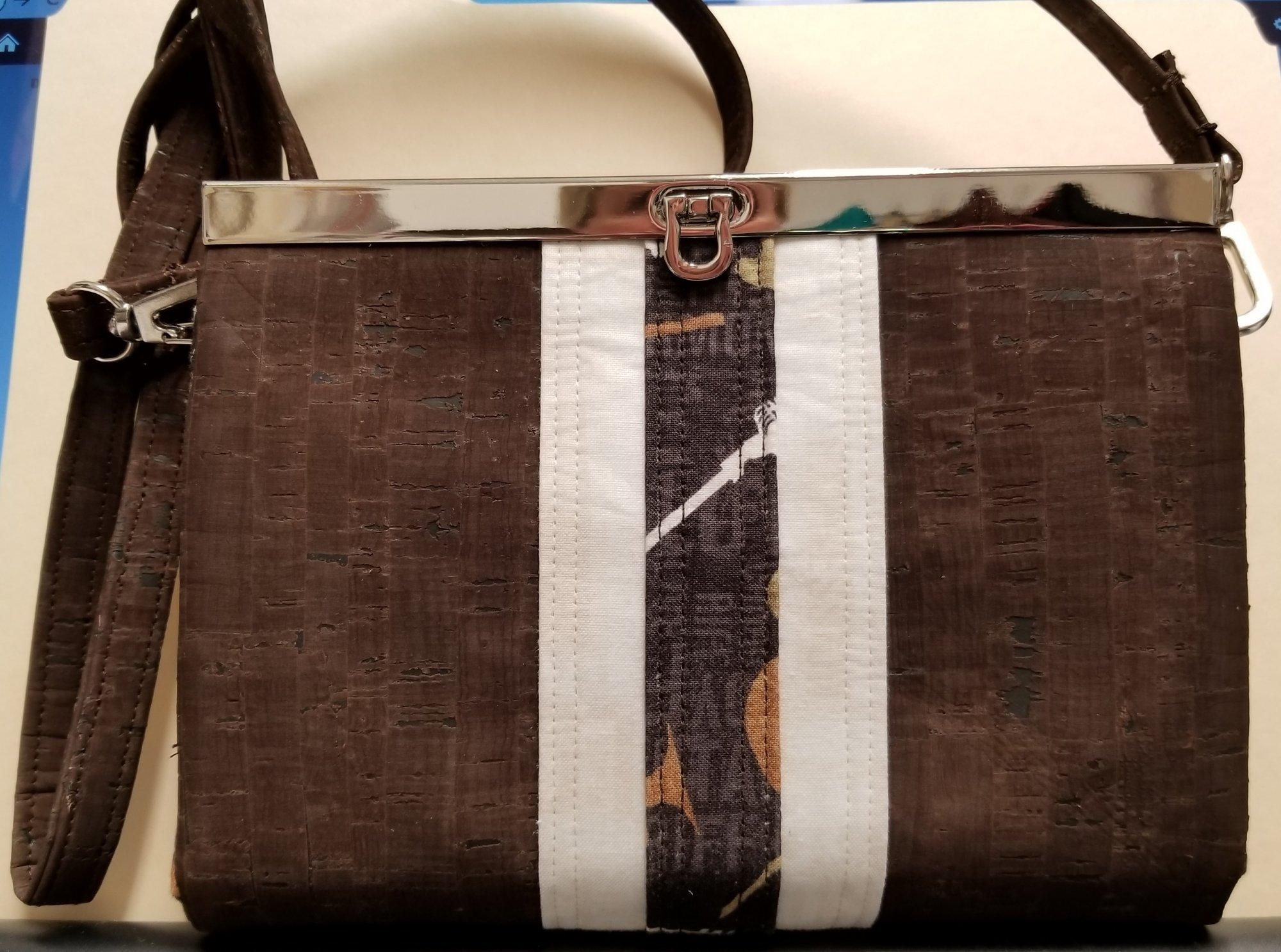 Custom Sewing Brown Prima Diva Clutch