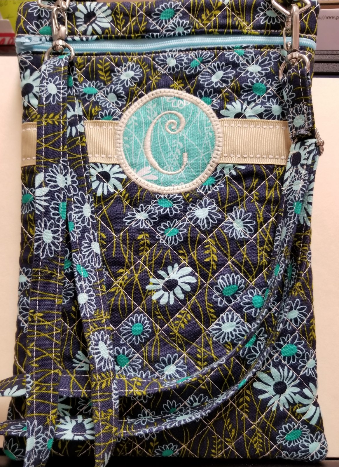 Custom Sewing C Cross Body Bag
