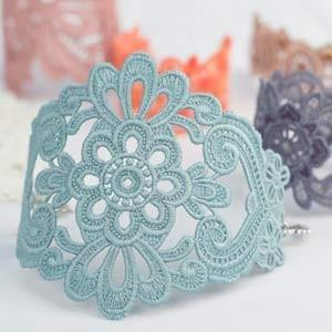 12628CD  FSL Lace Bracelets & Cuffs