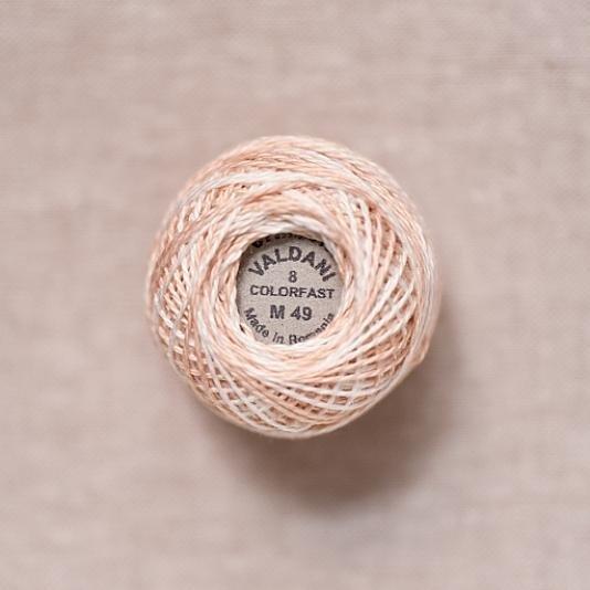 M49 Valdani Subtle Elegance Variegated Pearl Cotton
