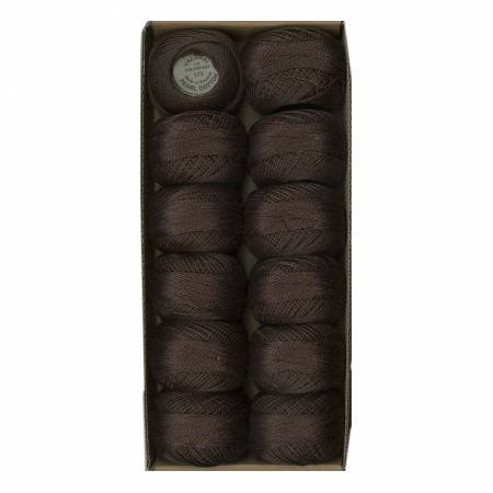 173 Valdani Rich Brn Dark Pearl Cotton