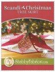 Scandi Christmas Tree Skirt by Shabby Fabrics