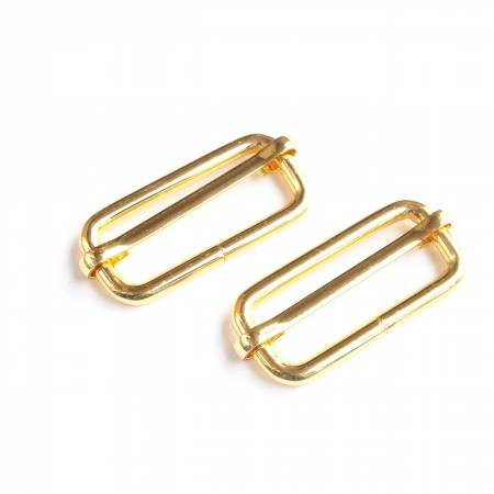 STS12GT Slider Buckles Gold 2ct 1-1/2in
