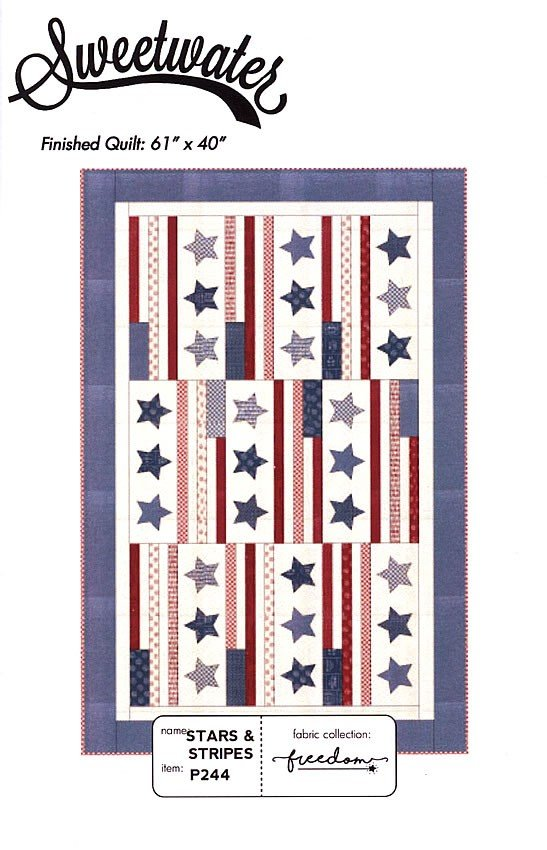 2018092701 Stars & Stripes Freedom Wall hanging KIT #!