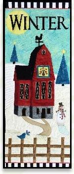 09011601 Skinny Barn Kit Winter