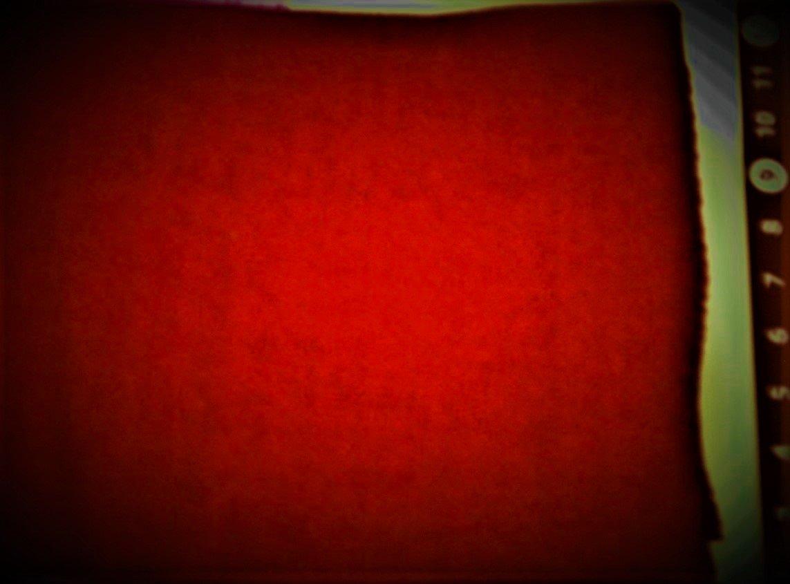 Deep Red FQ 18x28 100% Wool  Bright