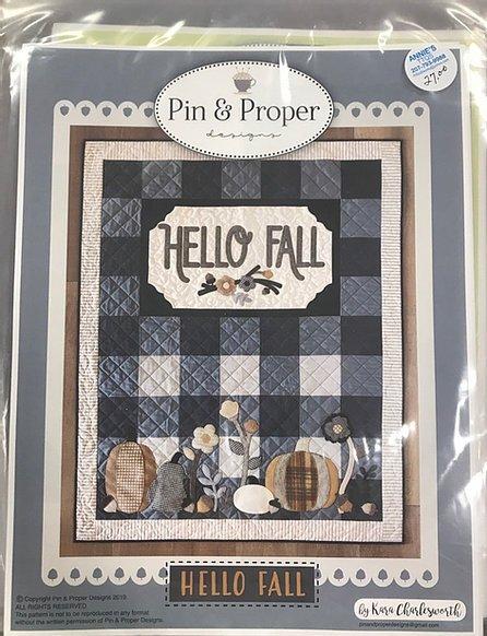 Pin and Proper Hello Fall