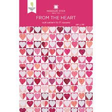 From the Heart Quilt Pattern by Missouri Star