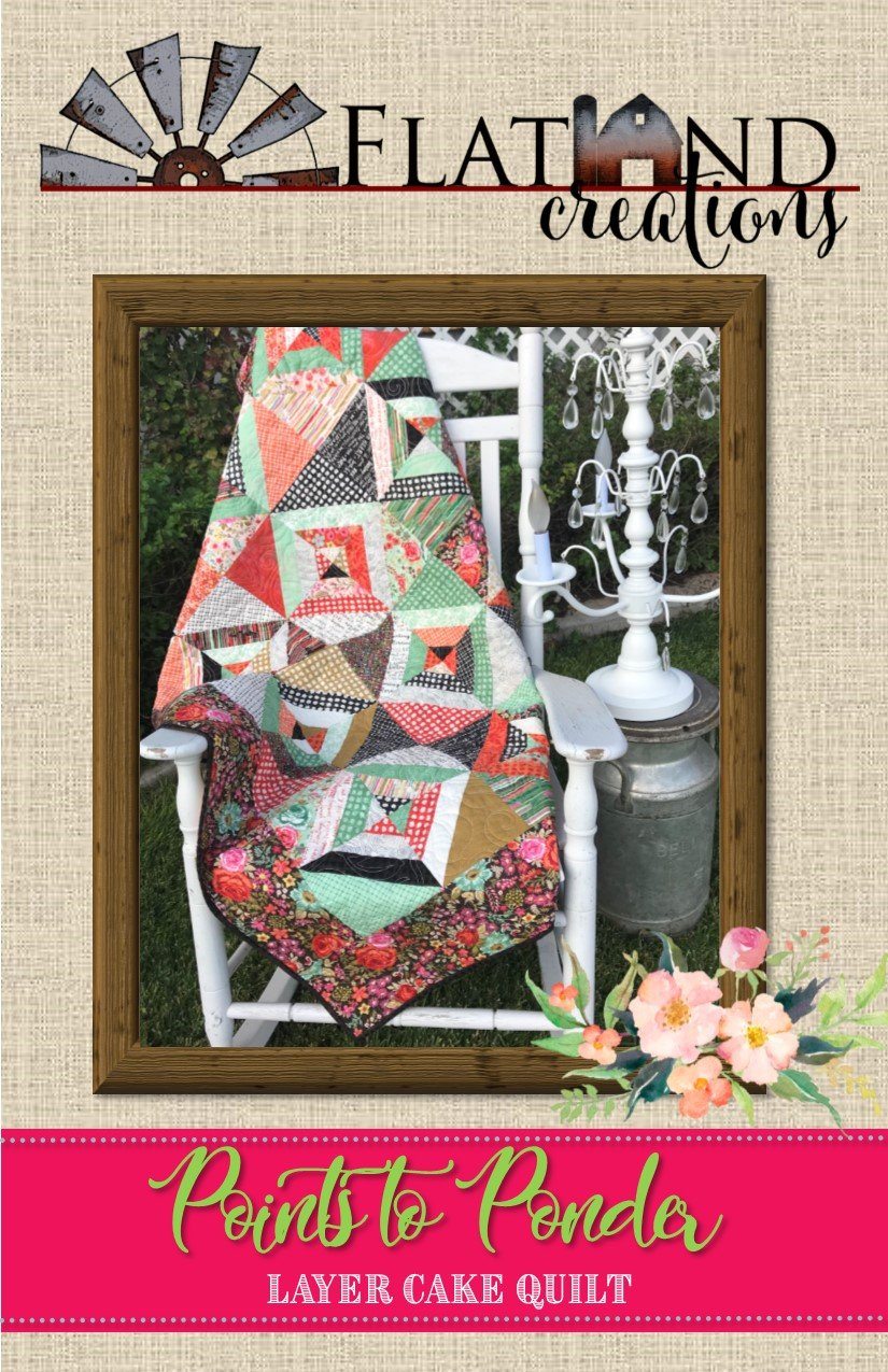Points to Ponder Quilt Pattern by Flatland Creations