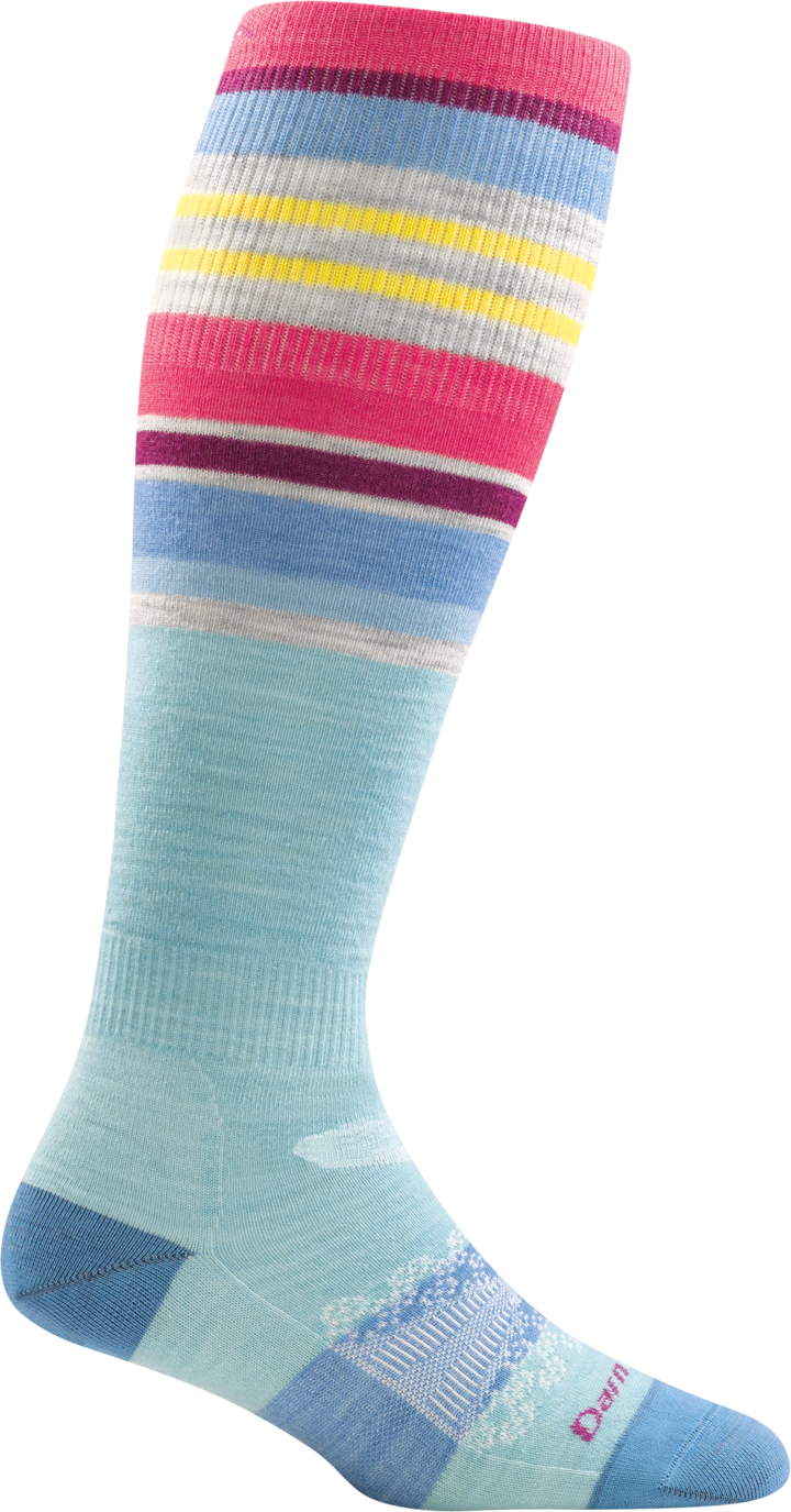 Darn Tough W's Glacier Stripe OTC Lightweight sock