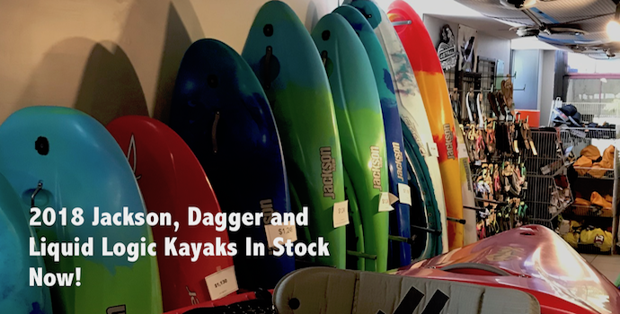 2018 whitewater kayaks