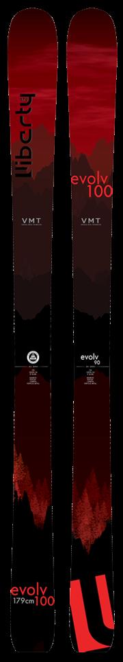 Liberty 2020 Evolv 100 Skis