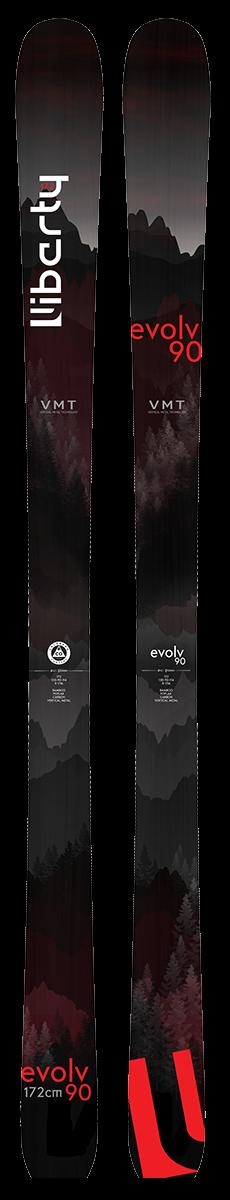 Liberty 2020 Evolv 90 Skis