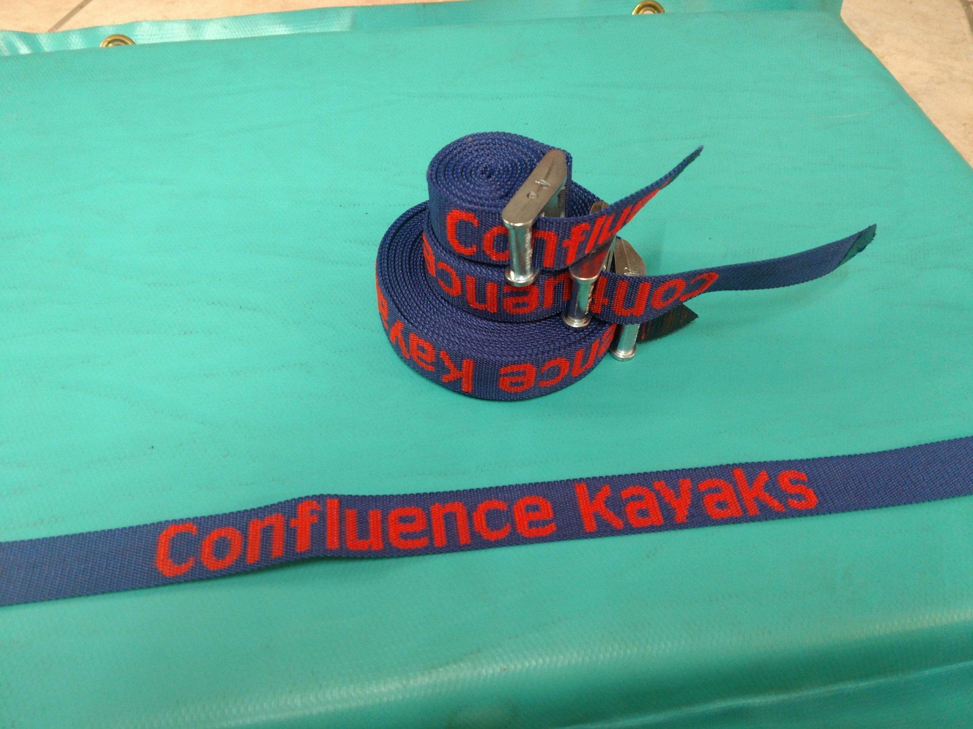 Confluence Kayaks Cam Straps