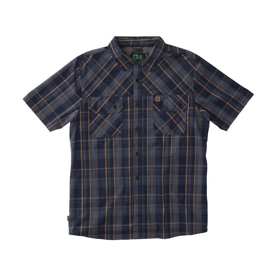 HippyTree Norwalk Woven SS Shirt