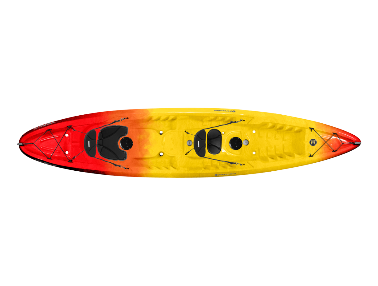 Perception Tribe 135 Tandem SOT Kayak