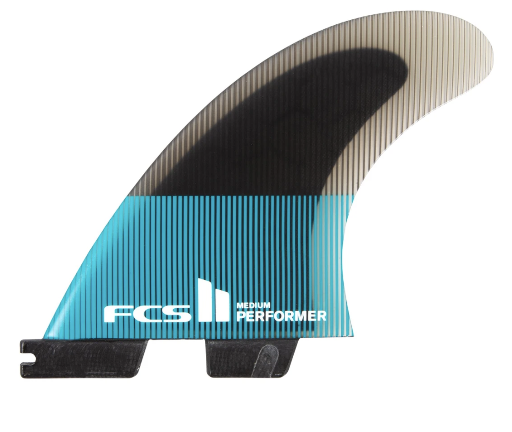 FCS II Performer PC Teal X-Small Tri Fins
