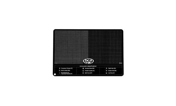 BCA Aluminum Crystal Card