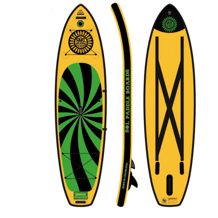 SOLtrain - Carbon Galaxy SUP Package