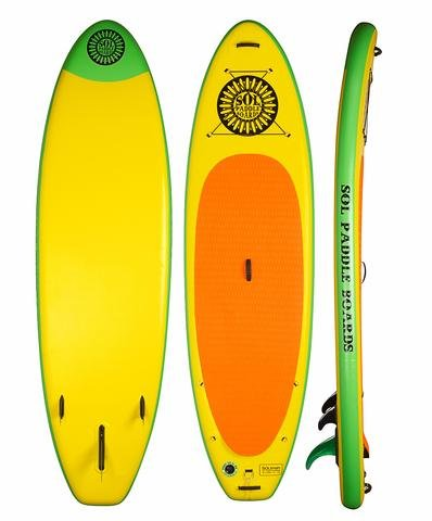 SOLtrain 10'7 SUP Package