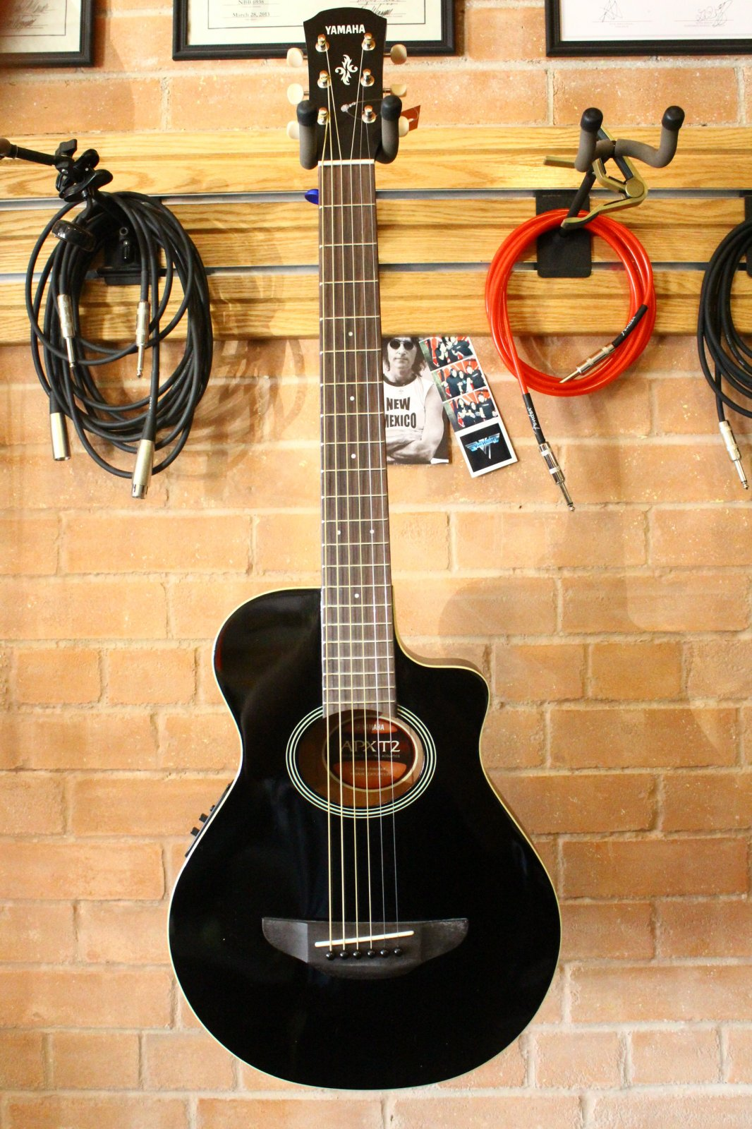 Yamaha APXT2 Dark Red Burst with Gig Bag. $199.99. Check It Out