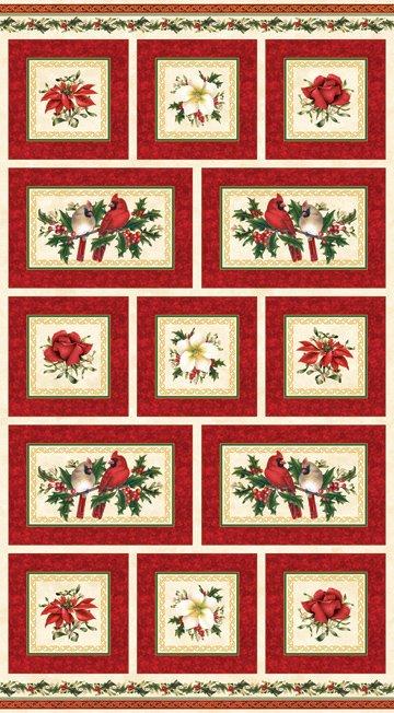 Christmas Traditions Panel  -  5510M-24