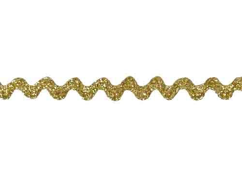 Baby Rick Rack - Metallic Gold