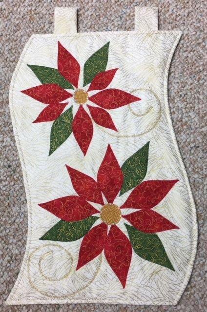 Poinsettia Pair Wall/Runner Kit