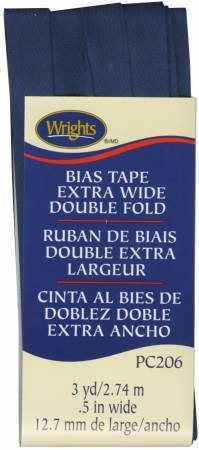 Bias Tape 1/2 Navy (055)